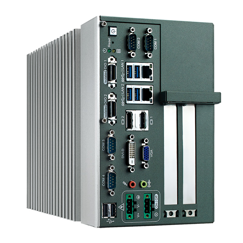 Product Pages Show Vecow Wide Temperature Fanless